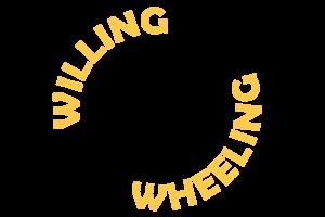 Willing Wheeling - logo - yellow+black