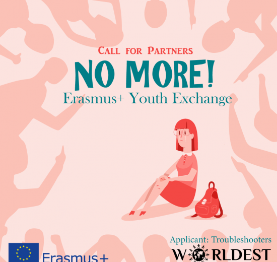 No More! - call for partners