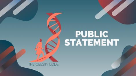 The Obesity Code - public statement