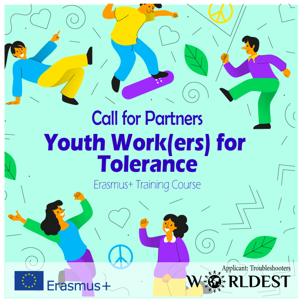 Youth work(ers) for Tolarence - call for partners